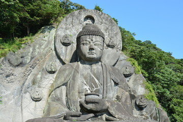鋸山 日本寺 千葉県