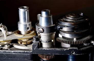 eski fotoğraf makinesi detay