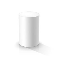 White cylinder
