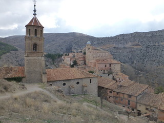 Albarracin, pueblo con encanto de Teruel en Aragon (España)