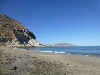 Cala Plomo en Cabo de Gata-Níjar en Almeria, Andalucía (España)