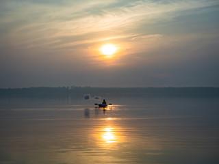 Dampfer auf dem See