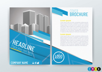 A4 Size Front and back cover, Abstract modern Background Creative Design, Business Brochure, Template Flyer Layout, Annual Report-Vector Illustration