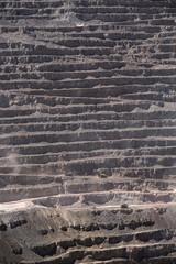 Aluminium Prints Chuquicamata, world's biggest open pit copper mine, Calama, Chile
