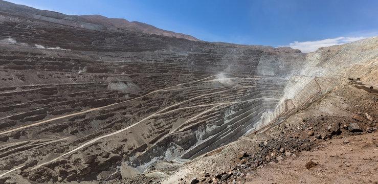 Chuquicamata, world's biggest open pit copper mine, Calama, Chile