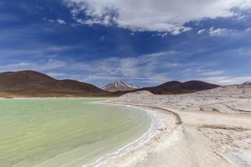 Red stones  (Piedras Rojas), Aguascalientes Saline, Atacama, Chile