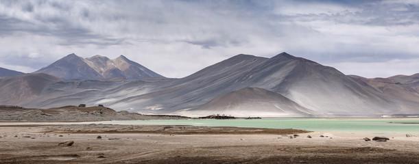 Aguascalientes Saline, Red stones (Piedras Rojas), Atacama, Chile