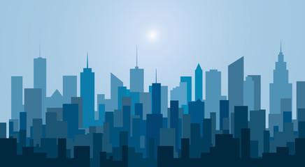 new blue city towers