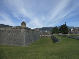 Jaca, ciudad de Huesca en Aragon (España)