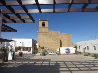 Mojácar, localidad de costal de la provincia de Almería, en la comunidad autónoma de Andalucía