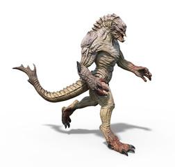 Alien Creature Walking