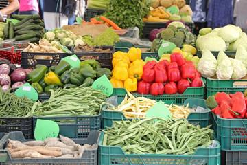 Market Stall Vegetables