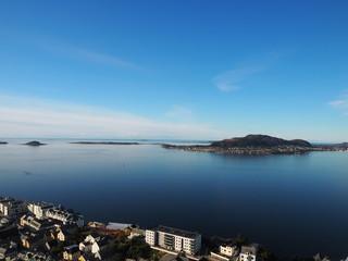 View from Aksla Ålesund Norway