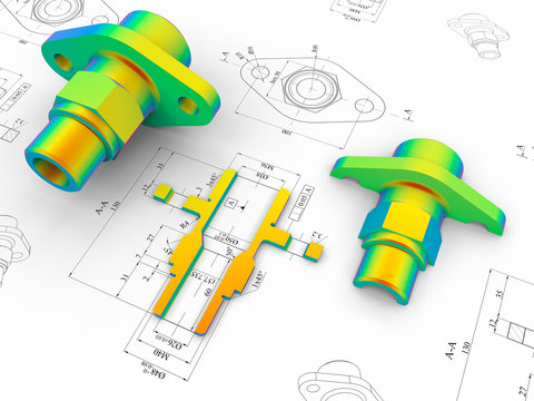 CAD engineering - Finite element analysis