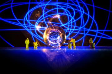 Hazmat Radioactive Atom