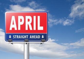 April spring month