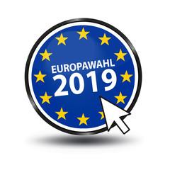 Europawahl 2019 - Vektor Illustration