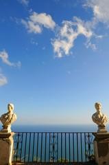 南イタリア、アマルフィの風景