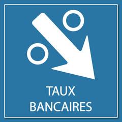 Logo taux bancaires.