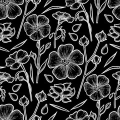 Graphic linen pattern