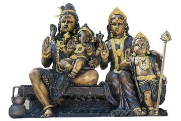 Deva Family statue