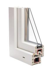 plastic profile glass unit