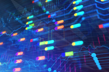 Colorful node backdrop