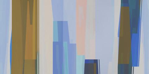 Pastel Tones Avant-Gardism Background. Paint Stains Texture. Acrylic Artistic Artwork Backdrop.
