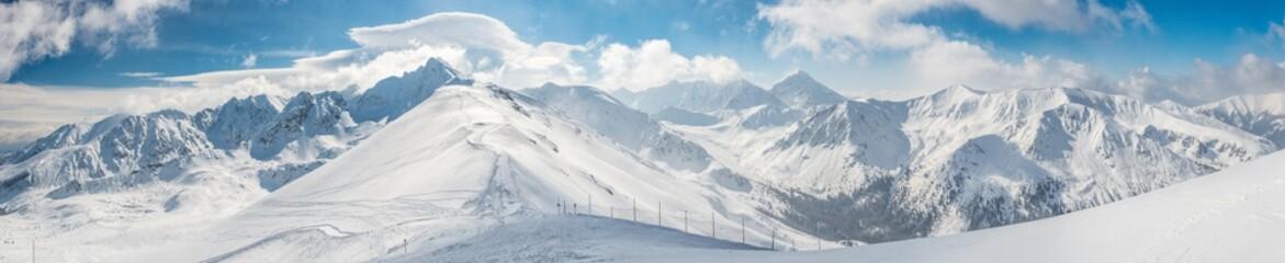 Fototapeta Kasprowy wierch High Tatras obraz