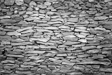 Grunge wall stone background textures, rock background