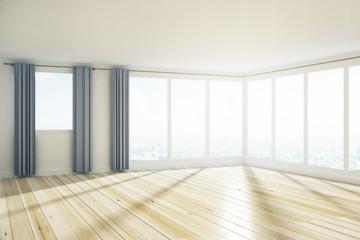 Minimalistic empty interior