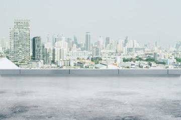Fototapete - Dull city wallpaper