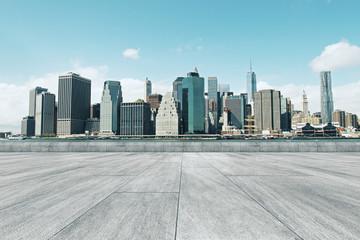Fototapete - Bright city backdrop