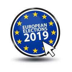 European Election 2019 - Vector Illustration