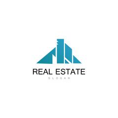 roof real estate logo