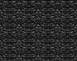 Black abstract surface 3D texture