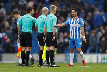 Premier League - Brighton & Hove Albion vs Huddersfield Town