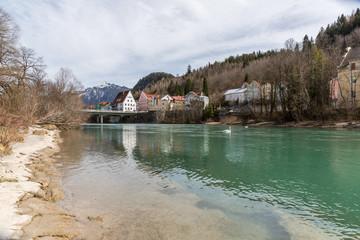 Brücke über den Lech in Füssen