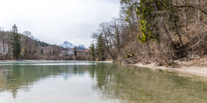 Der Lech in Füssen