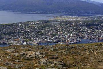 View of Tromsø from Fløyfjellet
