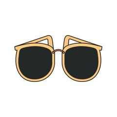 female sunglasses accessory icon vector illustration design