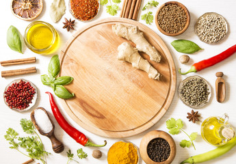 In de dag Kruiden Herbs and spices