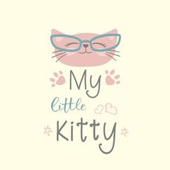 My little kitty,