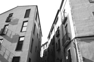 Black and White Architecture Building Background