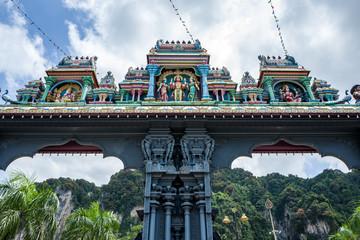 The Batu caves in Kuala Lumpur