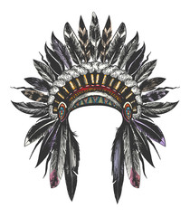 Native American Indian War Bonnet