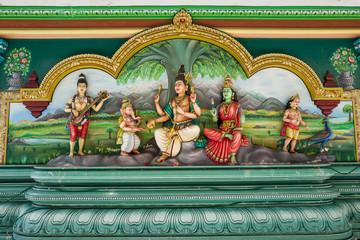 The Sri Mahamariamman temople in Kuala Lumpur