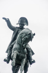 Aluminium Prints Historic monument Statue of Napoleon on Horseback