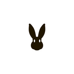 rabbit icon. sign design