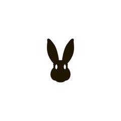 rabbit icon. sign design